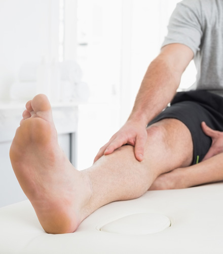 Chiropractic Watertown SD Leg Stretch